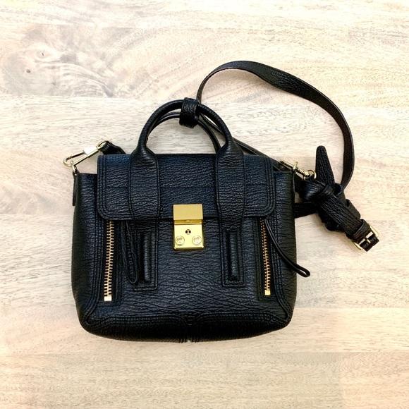 4fd47d1a3bcad 3.1 Phillip Lim mini Pashli black gold